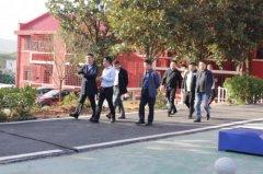 <b>心励励志教育集团励铮校区迎接市区领导日常工作检查</b>